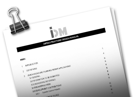 Image of the IDM document.